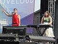 Tyler Glenn and Mary Lambert at LoveLoud 2018 (44222383532).jpg