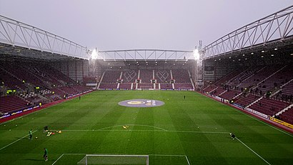How to get to Tynecastle Park with public transport- About the place