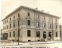 U.S. Post Office (Florence, South Carolina) 1938.jpg