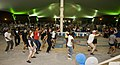 U.S. Service members dance following the 379th Air Expeditionary Wing's You Got Served dance competition, during an Air Force Birthday celebration, at an undisclosed base in Southwest Asia, Sept 130919-F-JF989-078.jpg