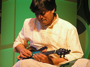 U. Srinivas - Srinivas performing in Pune, January to December 2009