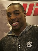 UFC fighter visits Freedom Crossing 121116-A-UK859-003 (cropped).jpg