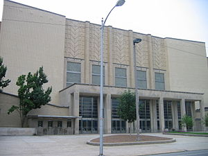 Memorial Coliseum (University of Kentucky) - Facade in 2008