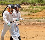 USAID Dioxin Contamination Project Progress Soil Sampling (9365436966).jpg
