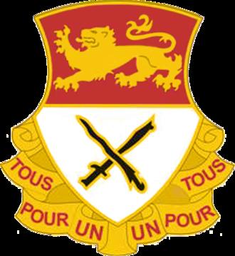 15th Cavalry Regiment - Image: USA 15 CAV REGT