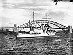USS ASTORIA in Farm Cove, Sydney, August 1934.jpg