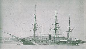 USS Hartford (1858) - Image: USS Hartford (1858)