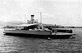 USS Nihoa (YFB-17) at Pearl Harbor c1953.jpg