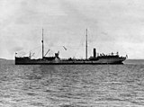 USS Pecos (AO-6) off Chefoo, China, on 14 September 1928 (NH 65021).jpg