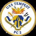 USS Tempest PC-2 Crest.png