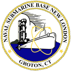 US Naval Submarine Base New London patch.png