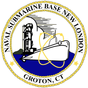 Naval Submarine Base New London - Image: US Naval Submarine Base New London patch