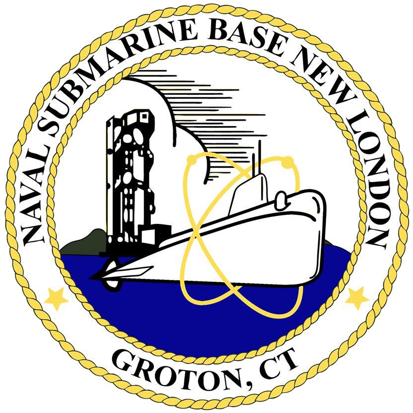 US Naval Submarine Base New London patch