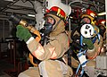 US Navy 020427-N-6817C-004 Firefighting drill on board CVN 72.jpg