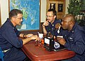 US Navy 020814-N-6404B-003 USS Blue Ridge holds an ice cream social.jpg