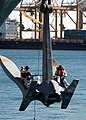 US Navy 040116-N-7278A-003 Sailors prepare to paint the ship's anchor.jpg