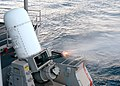 US Navy 060404-N-8485T-012 USS John F. Kennedy (CV 67) conducts a Phalanx Close-In Weapons System (CIWS) live fire training exercise.jpg