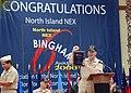 US Navy 090629-N-4451V-044 Rear Adm. (Sel.) Anthony Gaiani, commanding officer of Naval Base Coronado, cheers after receiving the 2008 Bingham Award.jpg