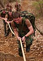 US Navy 100403-N-3857R-005 U.S. Naval Academy midshipmen navigate the U.S. Marine Corps obstacle course during the Monster Mash Color Competition.jpg