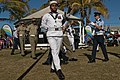 US Navy 110709-N-CZ945-602 Australia's Federation Guard performs at the opening ceremony for Talisman Sabre 2011.jpg