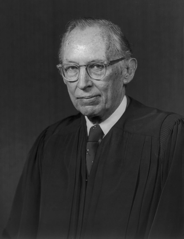 US Supreme Court Justice Lewis Powell - 1976 official portrait, From WikimediaPhotos