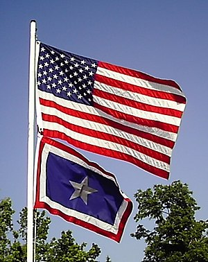 The Silver Star Families of America - The United States Flag and the Silver Star Service Flag