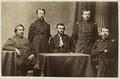 UlyssesSGrant staff ca1865 byJAWhipple Harvard.png