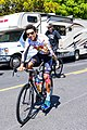Ulysses Castillo-Soto of Jelly Belly p b Maxxis before the start of Stage 2 in Modesto (34906947741).jpg