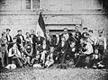 Unbekannter Fotograf Das Corps Suevia SS 1857 Albuminabzug.jpg