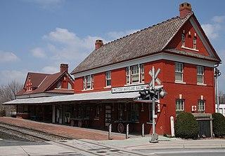 Union Bridge station United States historic place