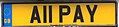 United Kingdom license plate A11 PAY.jpg