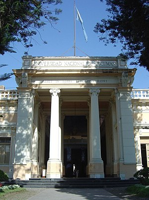 National University of Tucumán - Rectorate building.