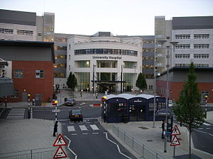 University Hospital Coventry - The main entrance