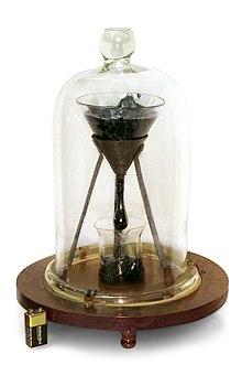 L'esperimento di John Mainstone e Thomas Parnell per misurare il tempo di discesa della pece da un imbuto, vincitore dell'Ig Nobel per la fisica nel 2005.
