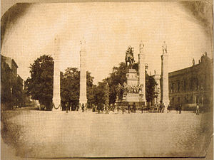 Equestrian statue of Frederick the Great - Unveiling of the monument, 31 May 1851