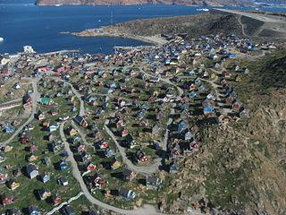 Upernavik Place in Greenland, Kingdom of Denmark