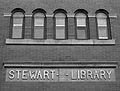 Upper front of Stewart Library.jpg