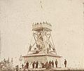 Utsiktstornet på Hoverberget i Jämtland ca 1900. Fotograf John Leander. Finns på Bergs hembygdsgård..jpg