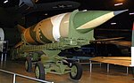 V2 rocket and trailer, National Museum of the US Air Force, Dayton, Ohio, USA. (46085807882).jpg