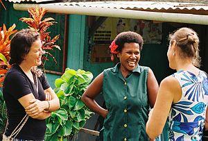 Volunteer Service Abroad - VSA volunteers at work in Vanuatu