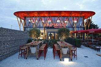 Vapiano - The Vapiano in Fürth is the first free-standing Vapiano (2015)