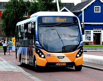Wright StreetLite - Arriva Netherlands VDL Citea MLE in Lelystad in August 2014