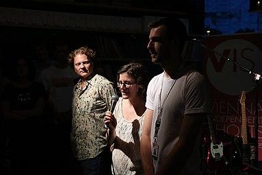 VIS - Vienna Independent Shorts 2014 Music Video Awards at Heuer am Karlsplatz 04 Marco Celeghin Ann-Katrin Dorner Christoph Etzlsdorfer.jpg