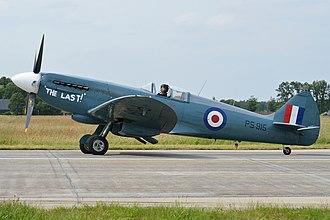 "Battle of Britain Memorial Flight - PS915 ""The Last"""
