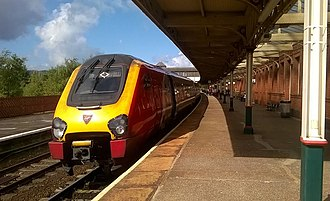 Virgin Trains - Unidentified Class 221 Super Voyager at Llandudno Junction