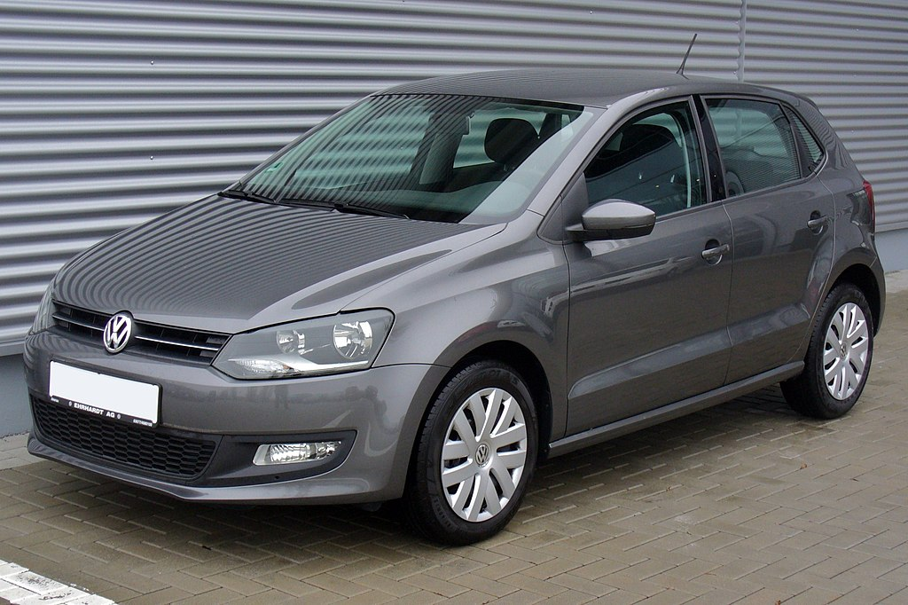 file vw polo v 1 2 comfortline pepper grey jpg wikimedia commons. Black Bedroom Furniture Sets. Home Design Ideas