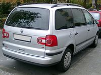 VW Sharan rear 20071026.jpg