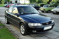 Opel Vectra B przed liftingiem