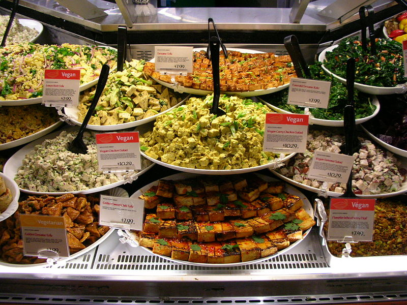 File:Vegan Gardein Tofu Foods Display.jpg
