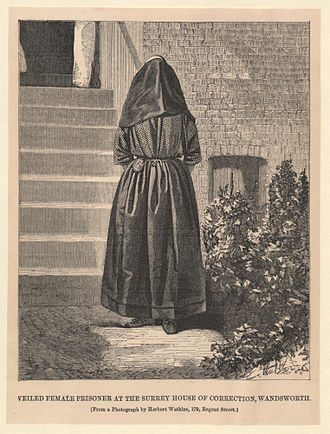 HM Prison Brixton - Female prisoner at the Surrey House of Correction in the 1860s